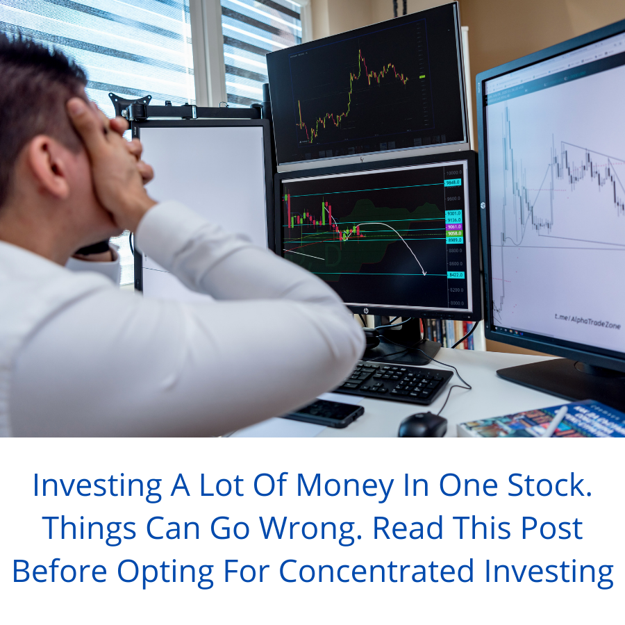 Don't Try Concentrated Investing Like I Did? 40% Allocation & Stock Down 50%